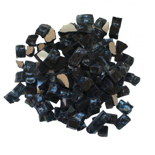AMSF-GLASS-03 charcoal fire glass media