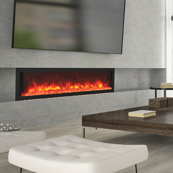 Remii electric fireplace 65 inches wide