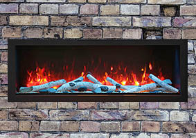 remii deep electric fireplace